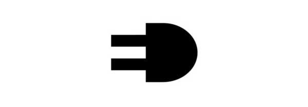 3.5插头矢量图